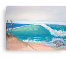 Beach Right Canvas Print