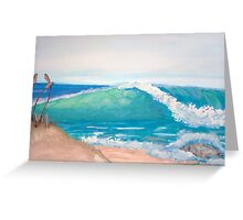 Beach Right Greeting Card