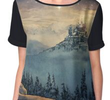 Castle in the Sky Chiffon Top