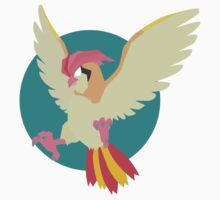 Pidgeot - Basic by Missajrolls