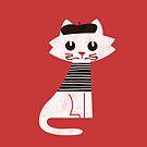 Paris cat by Budi Satria Kwan