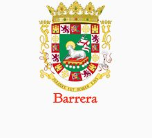 Barrera Shield of Puerto Rico Unisex T-Shirt