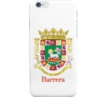 Barrera Shield of Puerto Rico iPhone Case/Skin