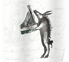 The Phantasmagorical Farmyard Boar Poster