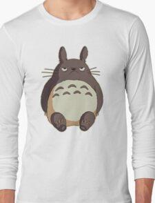 Grumpy Totoro Long Sleeve T-Shirt