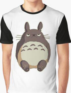 Grumpy Totoro Graphic T-Shirt