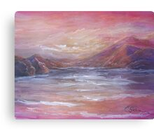 Landscape in Pink MM150601 Canvas Print