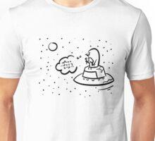 Penguin UFO Unisex T-Shirt