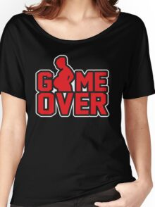 Game Over - Pregnant Women's Relaxed Fit T-Shirt