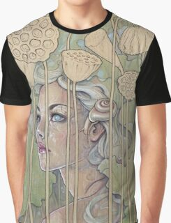 'Nelumbo' (Lotus Nymph) Graphic T-Shirt
