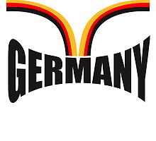 Lines Germany flag design by Style-O-Mat