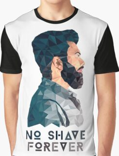 No Shave Forever Graphic T-Shirt