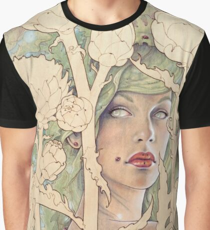 Cynara (Artichoke Nymph) Graphic T-Shirt