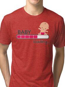 Baby loading... Tri-blend T-Shirt