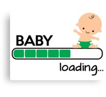 Baby loading... Canvas Print