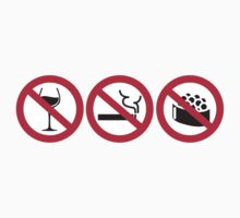No Alcohol - No Smoking - No Sushi by nektarinchen