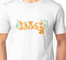 The Fox Family Unisex T-Shirt