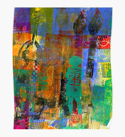 Eye Candy: Her CREATIVE Journey (Monotype) Poster