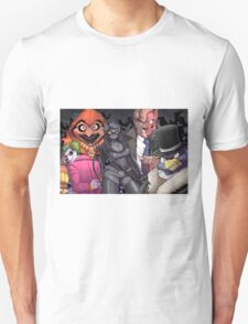The Bad Guy are here Unisex T-Shirt