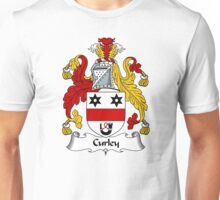 Curley Coat of Arms / Curley Family Crest Unisex T-Shirt