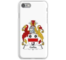 Curley Coat of Arms / Curley Family Crest iPhone Case/Skin