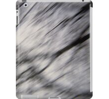 Blurry Tree Branches iPad Case/Skin
