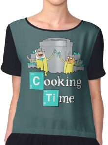Cooking Time! Chiffon Top