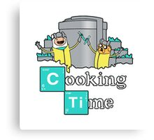 Cooking Time! Canvas Print