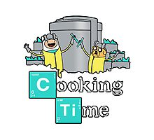 Cooking Time! Photographic Print