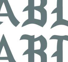 PABLO - Front Sticker