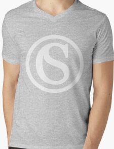 Save the Croissants Mens V-Neck T-Shirt