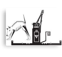 Yogi Animals Metal Print