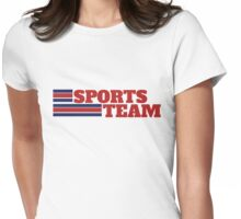Sports team Womens Fitted T-Shirt