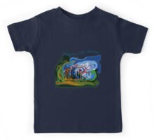 Dreamy City World Kids Tee