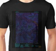 USGS TOPO Map Alaska AK Petersburg D-4 SE 353769 1992 25000 Inverted Unisex T-Shirt