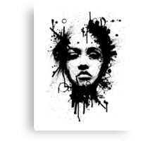ink one Canvas Print