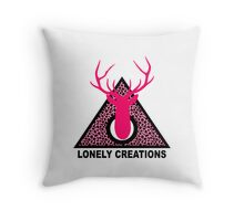 Deer Triangle Throw Pillow