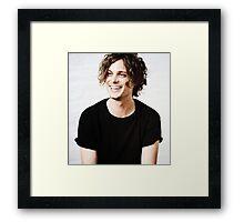 Matthew Gray Gubler smiling Framed Print