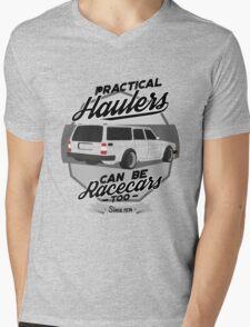 Hauler Racecar Mens V-Neck T-Shirt