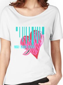 Live, Love, Smile Women's Relaxed Fit T-Shirt