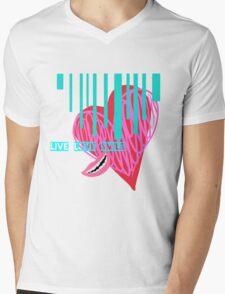 Live, Love, Smile Mens V-Neck T-Shirt