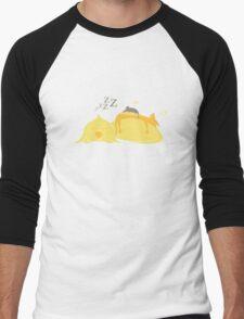 Animal friendship nap Men's Baseball ¾ T-Shirt