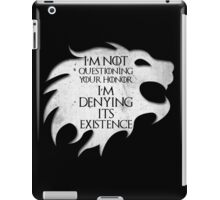 Game of Thrones - For Honor iPad Case/Skin