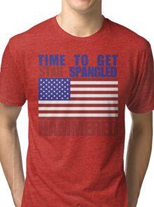 Star Spangled Hammered Tri-blend T-Shirt