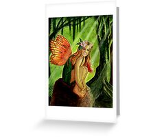 Swamp Sprite Greeting Card