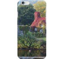 Llanrwst Tea Rooms iPhone Case/Skin
