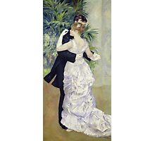 Pierre-Auguste Renoir - Dance In The Cityrenoir. Dancer painting: ballroom, dance, couple, evening dress, costume, ball dance, dancing woman, young , dancers, ball dance,  lovers  Photographic Print