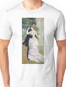 Pierre-Auguste Renoir - Dance In The Cityrenoir. Dancer painting: ballroom, dance, couple, evening dress, costume, ball dance, dancing woman, young , dancers, ball dance,  lovers  Unisex T-Shirt