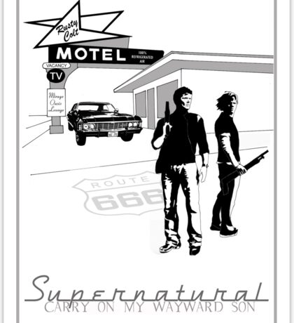 Winchester Motel  Sticker