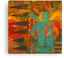 Color Me Steadfast Canvas Print
